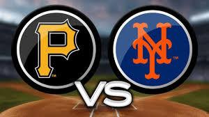 Pittsburgh Pirates vs New York Mets (4:10pm)