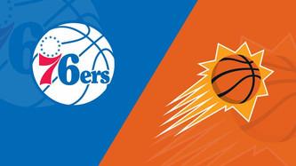 Phoenix Suns vs Philadelphia 76'ers (1:30pm)