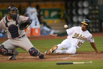 Oakland Athletics vs Boston Red Sox (4:10pm)