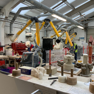 Stonemasonry Work Yard