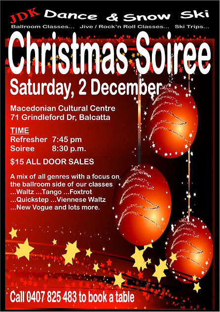 Christmas Soiree Flyer