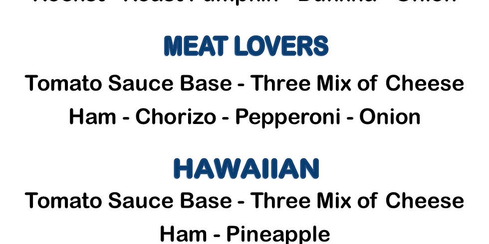 Christmas Party Pizza Orders