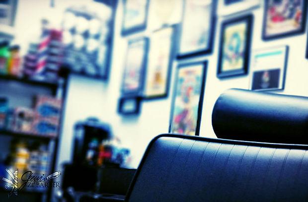 Inside Gerri's studio