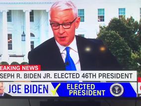 Joseph R. Biden Elected 46th President