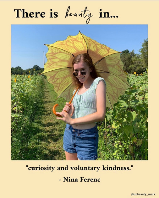 There is beauty in curiosity and voluntary kindness.