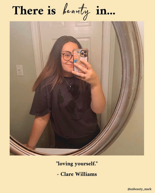 There is beauty in loving yourself.