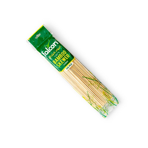 Falcon Bamboo Skewers - 12 Inch