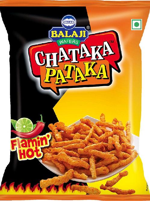 Balaji Chataka Pataka Flaming Hot - 65g