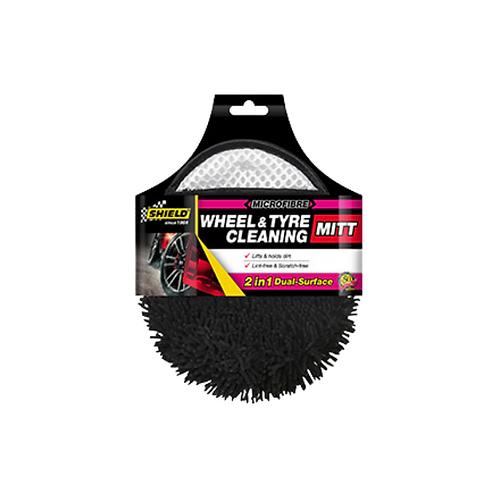 Shield Microfibre Wheel & Tyre Cleaning Mitt