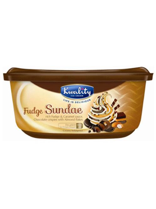 Kwality Fudge Sundae - 900ml