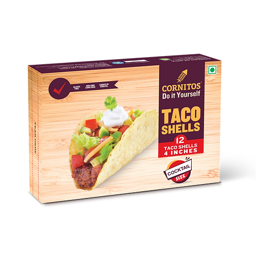 Cornitos Taco Shell (4 inches) - 80g