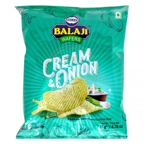 Balaji Cream& Onion Wafer - 135g