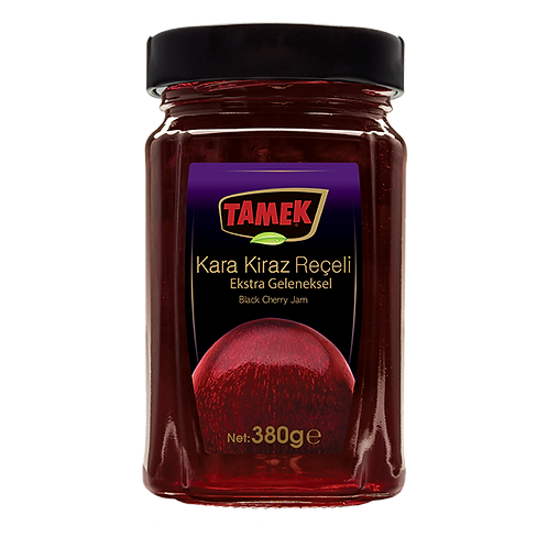 Tamek Black Cherry Jam - 380g
