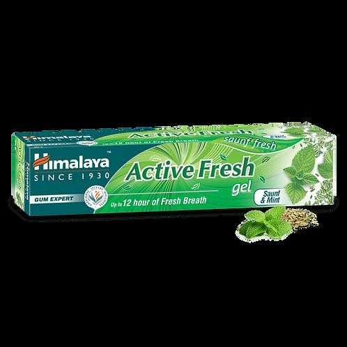 Himalaya Active Fresh Gel Toothpaste - 80g