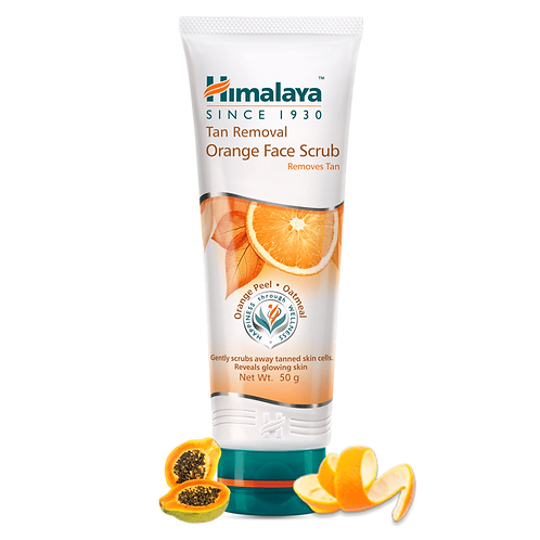 Himalaya Tan Removal Orange Face Scrub - 50g