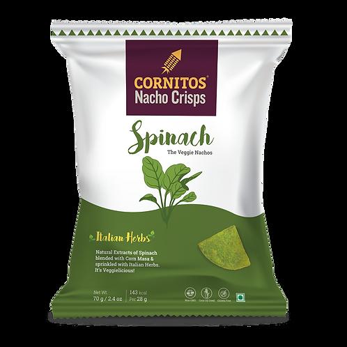 Cornitos Nach0 Spinach Crisps - 70g