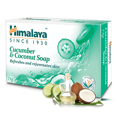 Himalay Cucumber & Coconut Soap - 75g