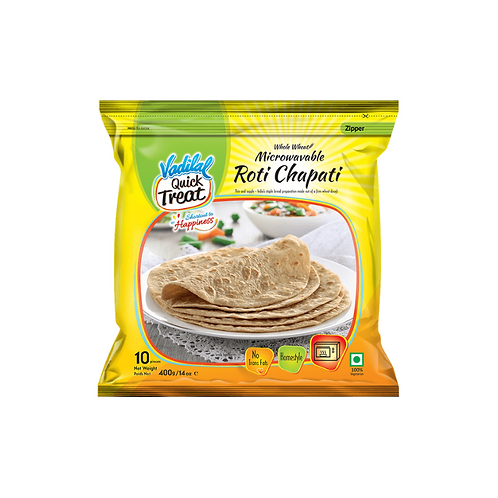 Vadilal Chapathi Roti - 400g