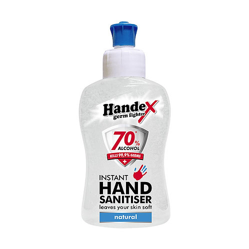 Shield Handex Instant Hand Sanitiser Natural - 250ml