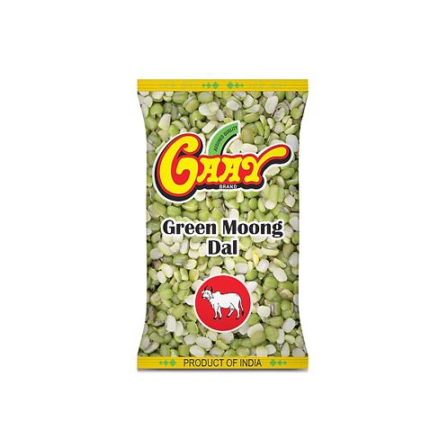 Gaay Green Moong Dal Split - 1kg