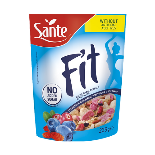 Sante Fit Cerealss Cranberry BlueberryGoji Berries - 225g