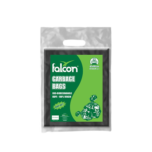 Falcon Retail Oxo-Biodegradable Garbage Bags - 65x95cm