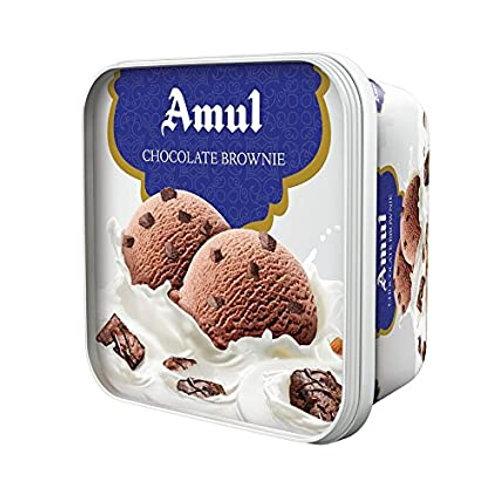 Amul Chocolate Brownie Ice Cream