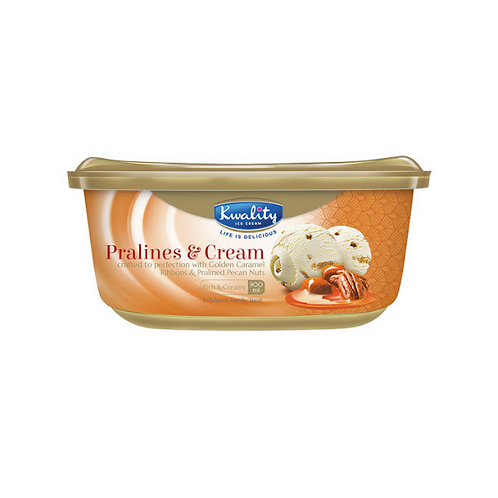 Kwality Pralines & Cream - 900ml
