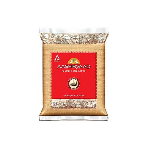 Aashirvaad Whole Wheat Atta Flour - 5kg