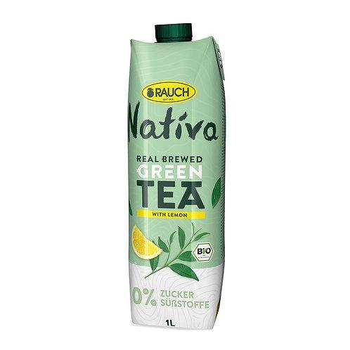 Rauch Nativa Bio Green Tea - 1L