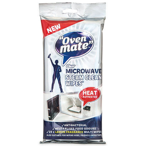 Oven Mate Microwave Steam Clean Wipes -
