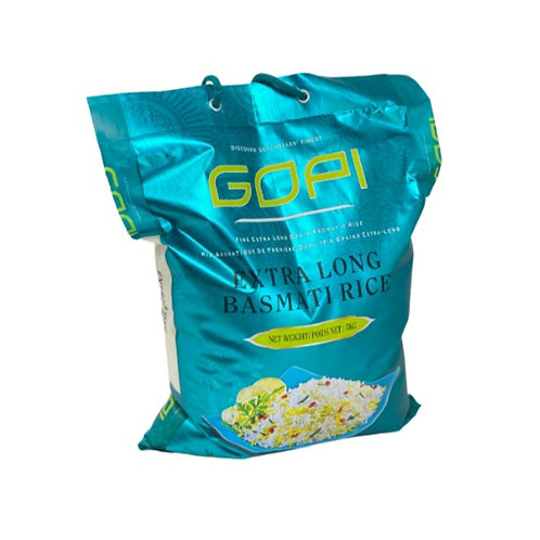 Gopi Extra Long Basmati Rice - 5kg