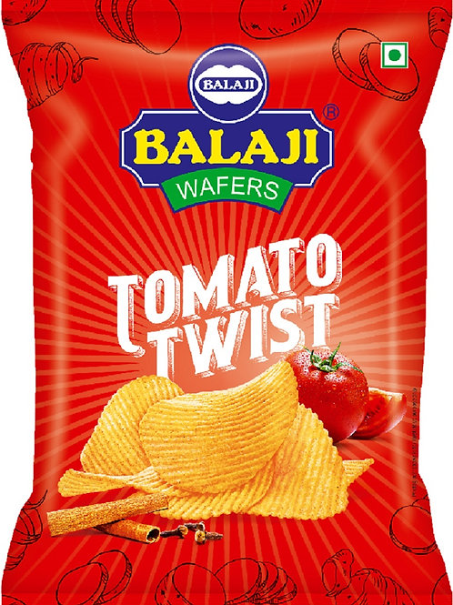 Balaji Tomato Twist Wafer - 40g