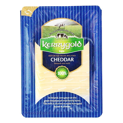 Kerrygold White Cheddar Slices - 150g