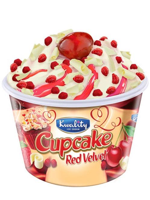 Kwality Red Velvet Cup Cake Sundae - 150ml