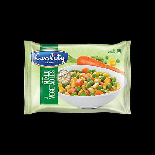 Kwality Frozen Mixed Vegetables - 400g
