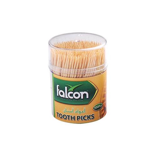 Falcon Bamboo Toothpicks - 500 Pcs
