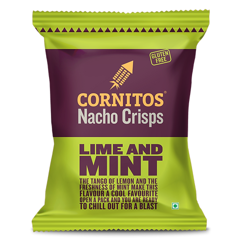 Cornitos Nacho Lime & Mint Crisps - 60g