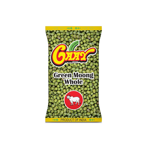 Gaay Green Moong Whole - 1kg