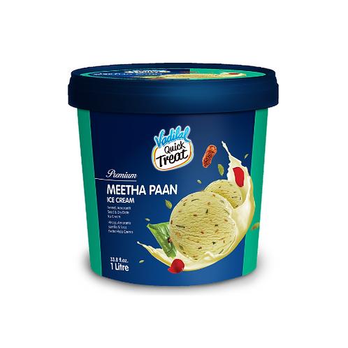 Vadilal Meetha Paan Ice Cream - 1L