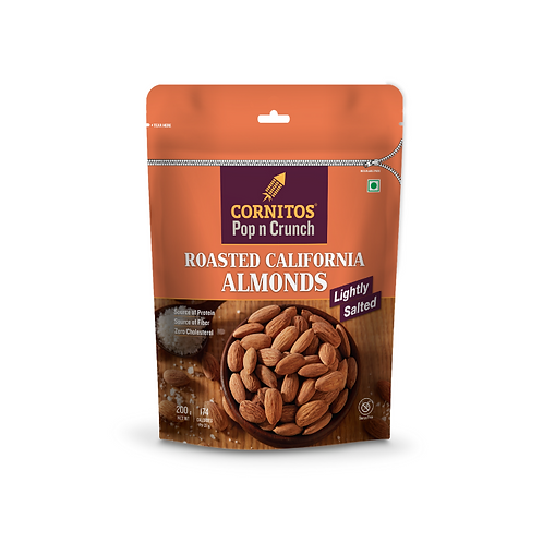 Cornitos Roasted Almond (Salted) - 200g