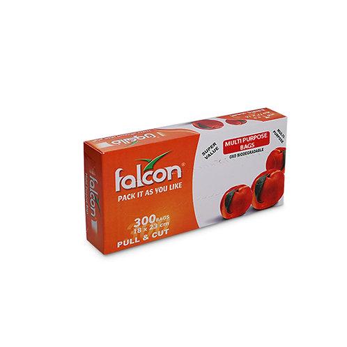 Falcon Oxo Biodegradable HDPE Pull & Cut Multi Purpose Bag - 18 x 23cm