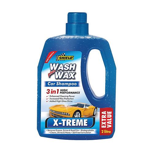 Shield X-Treme Shampoo Plus Wax - 500ml