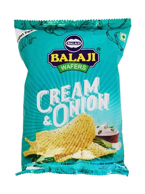 Balaji Cream & Onion Wafer - 40g