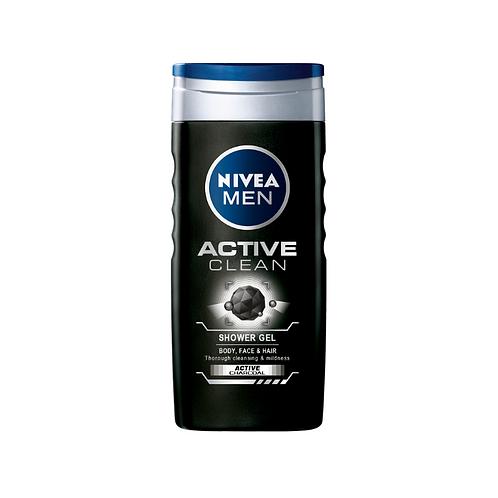 Nivea Active Clean Shower Gel - 250ml