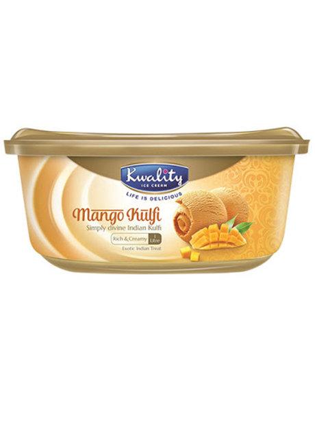 Kwality Mango Kulfi - 1L