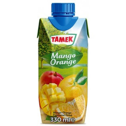 Tamek Mango Orange Flavoured Drink - 330ml