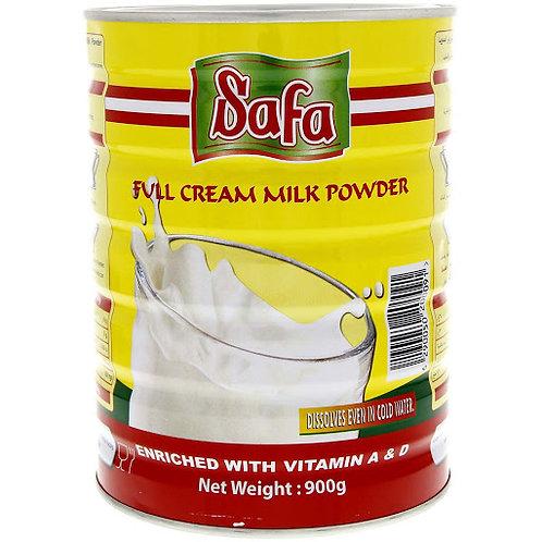 Safa Full Cream Milk Powder - 900g (Tin)