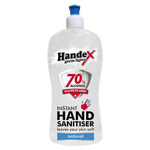 Shield Handex Instant Hand Sanitiser Natural - 500ml