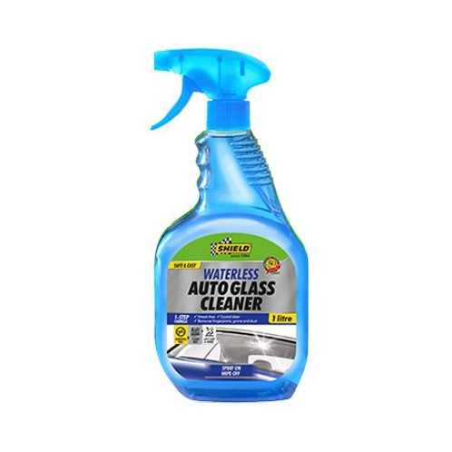 Shield Waterless Auto Glass Cleaner - 1l